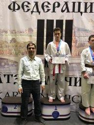 соревнования по шотокан каратэ KWF.